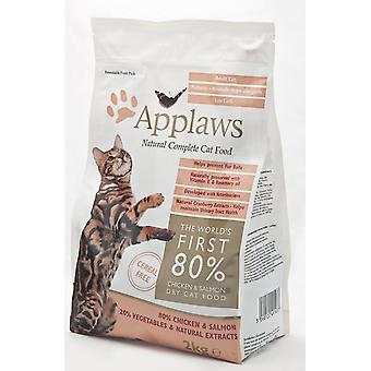Applaws Cat Dry Adult Salmon 2kg