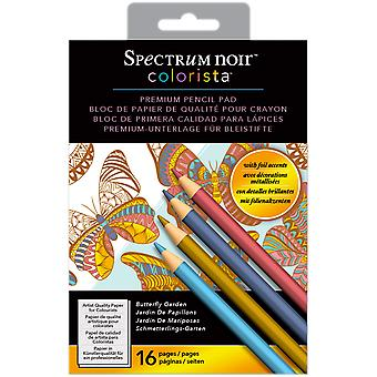 Spectrum Noir Colorista Pencil Pad W/ Foil 8.3