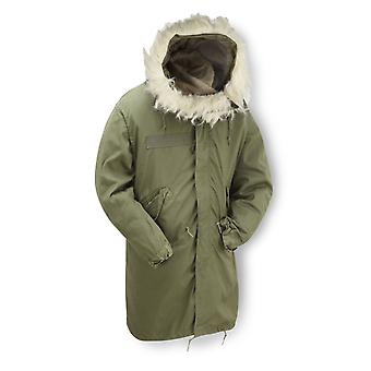 New Original Us M65 Fishtail Parka Lined Hooded
