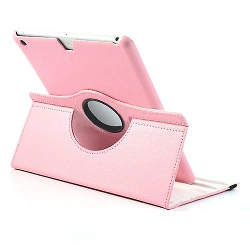 Cover art leather 360 degree bag Pink for Apple iPad air 2 2014