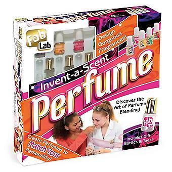 FabLab opfinde en duft parfume Kit med 5 x duftstoffer 4 x parfumeflasker