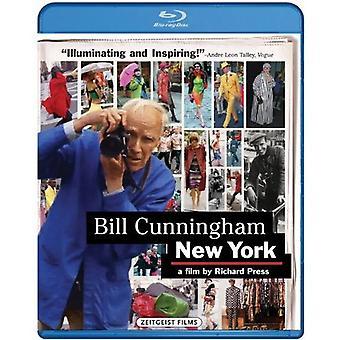 Bill Cunningham New York [BLU-RAY] USA importerer
