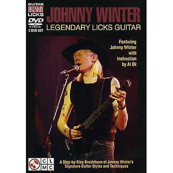 Johnny Winter - legendariske Licks Guitar [DVD] USA import