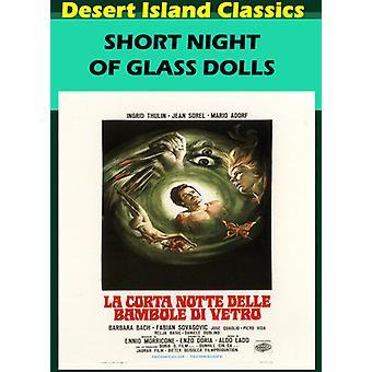 Korte nacht van glas poppen [DVD] USA import