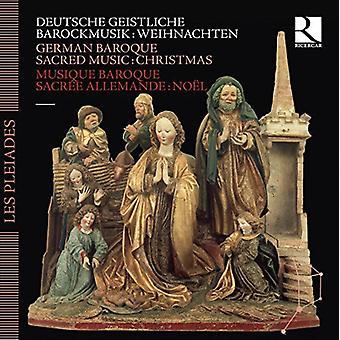 Tysk barok hellig musik-jul - tysk barok Sacred Music-Christmas [CD] USA import