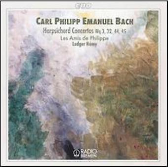 C.P.E. Bach - C.P.E. Bach: Harpsichord Concertos, Wq 3, 32, 44, 45 [CD] USA import