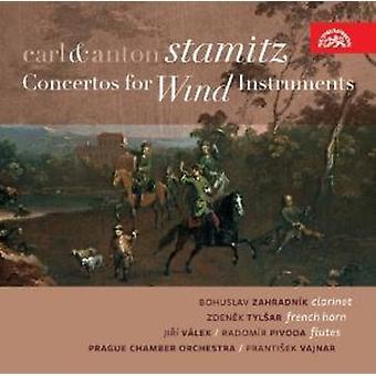 Carl Stamitz y Anton - Carl y Anton Stamitz: Conciertos para importación USA instrumentos de viento [CD]