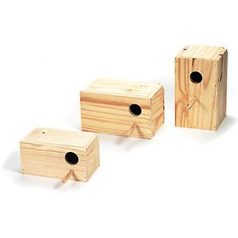 Arquivet Wooden Nest Parakeets (Birds , Bird Cage Accessories , Nests and Complements)