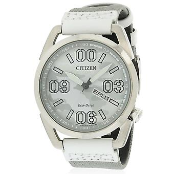 Citizen Eco-Drive Nylon Mens Watch AW0011-09J