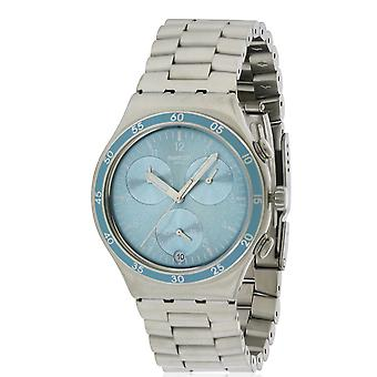 Swatch CLEAR WATER Stainless Steel Chronograph Unisex watch YCS589G