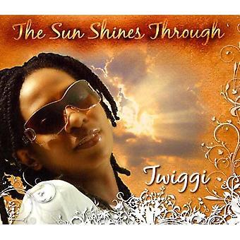 Twiggi - solen skinner gennem [CD] USA import