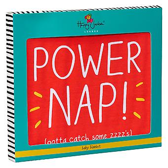 Happy Jackson Power Nap! Baby Blanket