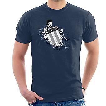 Suppleant begyndelsen Captain America mænd T-Shirt