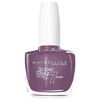 Maybelline Superstay Nail Color Gel 7 Days On Mauve 255