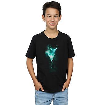 Harry Potter jongens Stag Patronus Mist T-Shirt