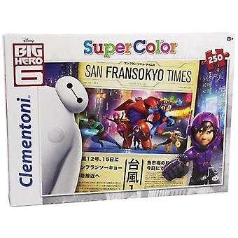 Clementoni Puzzle 250 pieces Big Hero 6 (Toys , Boardgames , Puzzles)