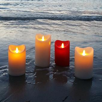 Modern Home Illumina Flameless Pillar Candle w/Moving Wick - Ivory