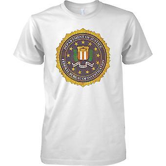 Federal Bureau Of Investigation - FBI Insignia - T-Shirt für Herren