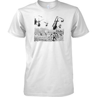 Guerra del Vietnam - Drop Off In atterraggio - Mens T-Shirt