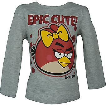 Angry Birds Girls Long Sleeve Top / T-Shirt