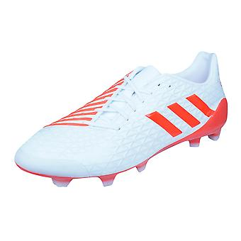adidas Predator Malice FG Mens Rugby Boots - White