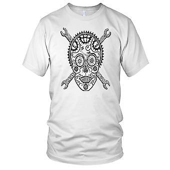 Zwart-wit Bike Design Cycology Kids T Shirt
