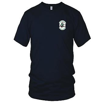 US Navy VF-151 Embroidered Patch - The Green Knights Ladies T Shirt