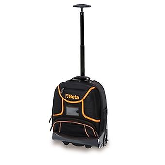 C6T Beta Tool Rucksack Made Of Technical Fabric With Castors Empty