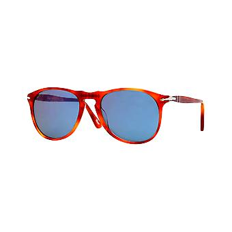 Persol 9649S Large scale clear blue