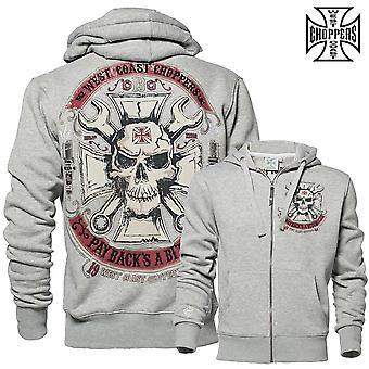 West Coast choppers Zip Hoody mechanic 2016