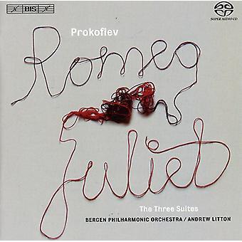 Bergens filharmoniska orkester - Prokofiev: Romeo & Julia, de tre sviter [SACD] USA import