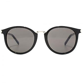 Saint Laurent SL 130 Combi Sunglasses In Black