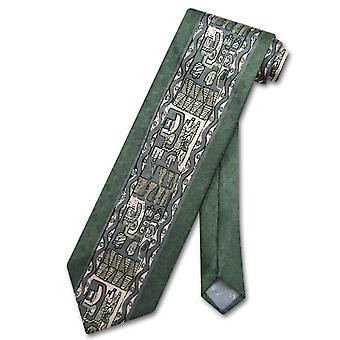 Antonio Ricci Seiden Krawatte hergestellt in Italien geometrische Design Herren Krawatte #3102-5