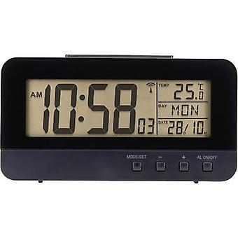 Radio Alarm clock Renkforce KW-9281 Black Alarm ti