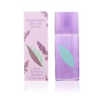 Elizabeth Arden Green Tea Lavender Eau De Toilette Vapo 100ml Womens New Perfume