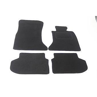 Fully Tailored Car Floor Mats - BMW 5 Series F10 2013-2018 Black