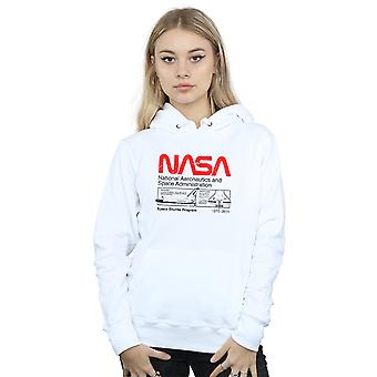 NASA Women's Classic Space Shuttle Hoodie