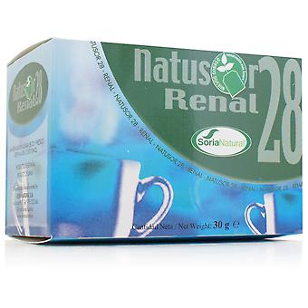 Soria Natural Natusor 28 - Renal Infusion (Herbalist's , Infusions)