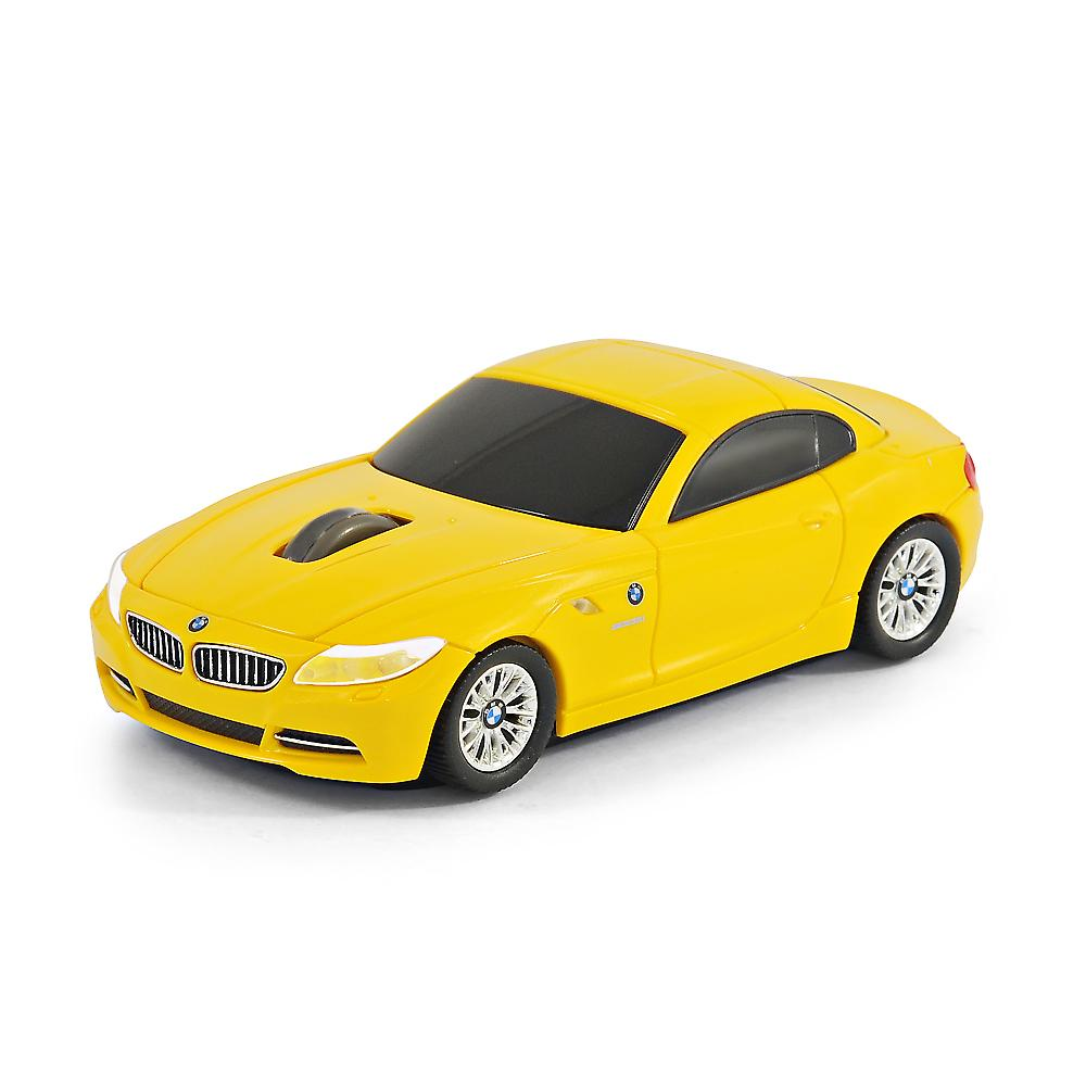 Bmw Z4 Australia: Official BMW Z4 Car Wireless Computer Mouse - Yellow