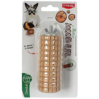 Tyrol Big Nature Wood To Gnaw Tutti Woody (Small pets , Toys)