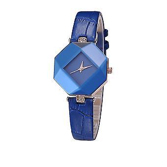 Smart Diamond Shape Watch Blue Jewel