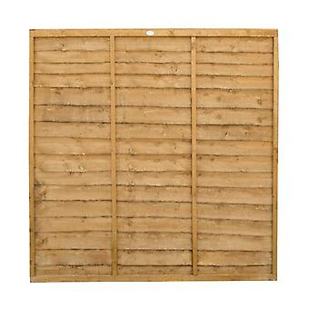 Forest Garden 6ft Lap Wooden Fence Panel