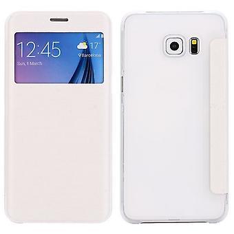 Smart cover window white Samsung Galaxy S6 edge plus G928 F
