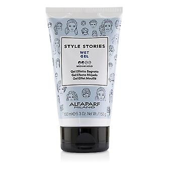 AlfaParf Style Stories Wet Gel (Medium Hold) 150ml/5.3oz