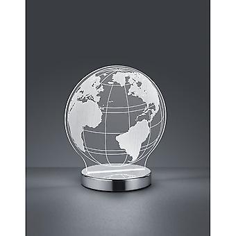 Trio Beleuchtung Globe Spaß Chrom Metall Tischlampe