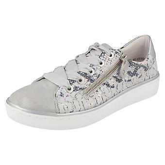 Ladies Remonte Casual Lace Up Trainers