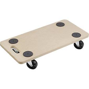 Dolly-capacidad de carga de madera (máx.): 200 kg Meister Werkzeuge 0820040