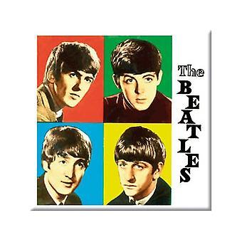 Beatles-vier Farben (Quadrat)-Kühlschrank-Magnet