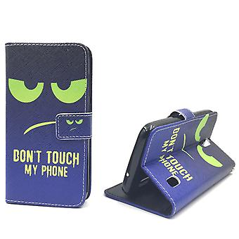 Dont Touch My Phone Handyhülle Huawei Y625 Klapphülle Wallet Case