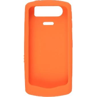 BlackBerry Rubberized Skin Case for BlackBerry 8110 Series - Orange